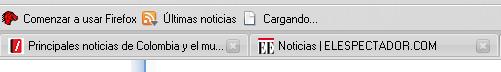 Truco en Firefox multiples paginas de inicio tabs