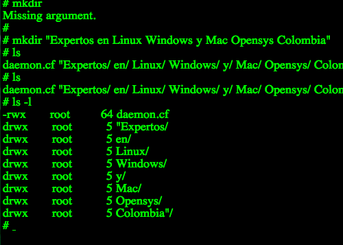 Shell Unix Gnu-Linux Terminal en linea.
