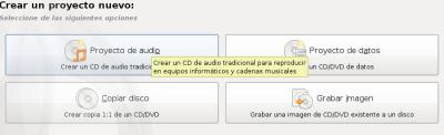 COmo quemar un cd dvd en linux
