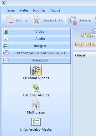 Archivo de video clips