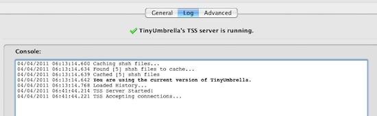 Descargar características y uso de TinyUmbrella para Windows