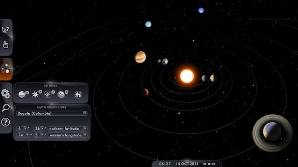 El Sistema Solar Interactivo Una Web Gratis Para Estudiar