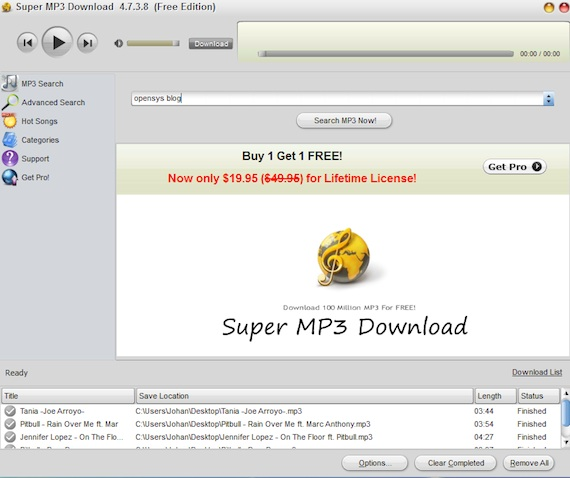 Descargar musica mp3 sin virus y sin esperas de forma for Descarga are