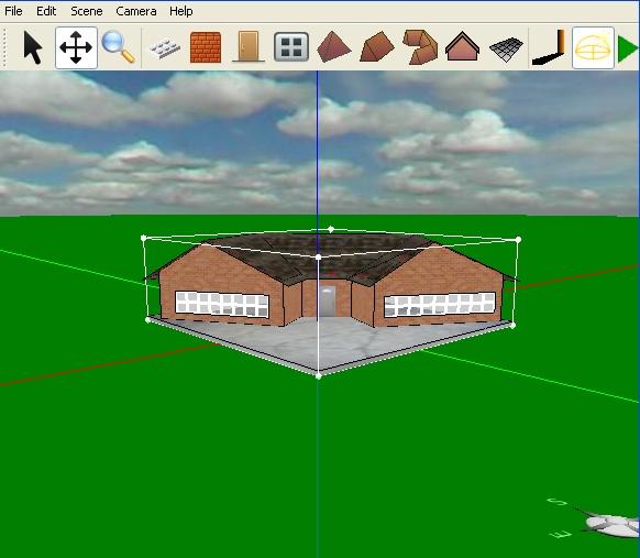Programa gratis para crear y construir casas muros y for Hacer casas en 3d online