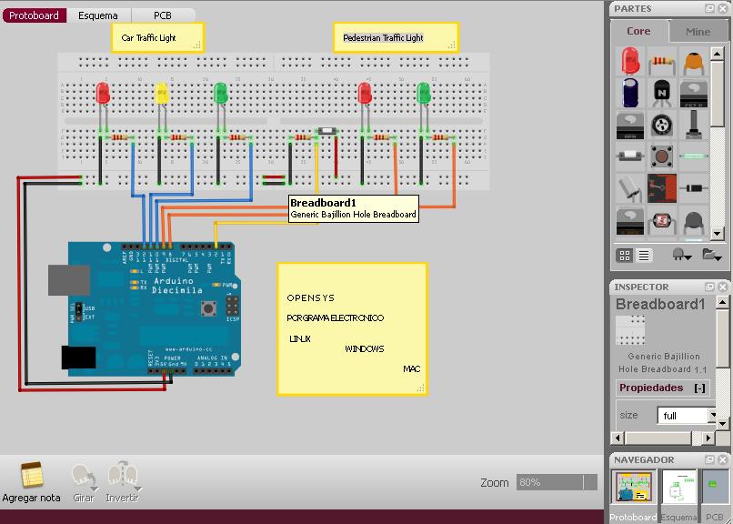 Programa gratis simulador y dise ador de circuitos for Programa para hacer planos gratis en espanol